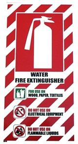 SKU 7825  Ext Label - Water