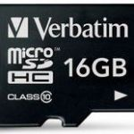 Verbatim Microsdhc Class 10 Card 16gb | 77-44010