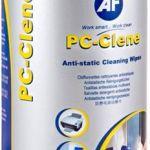 Af Pc-clene Anti-static Pc Wipes Tub | 77-APCC100