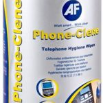 Af Phone-clene Anti-bacterial Phone Wipes Tub | 77-APHC100T
