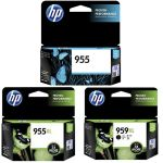 Hp 955xl Black High Yield Ink Cartridge | 77-L0S72AA