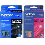 Brother Lc67cl3pk Cmy Colour Ink Cartridges (triple Pack) | 77-LC67CL3PK