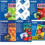 Brother Bp71gp20 6x4 Premium Glossy Photo Paper 260gsm 20 Sheets | 77-BP71GP20