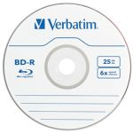 Verbatim Bd-r 25gb 6x Single Disk In Jewel Case | 77-96910