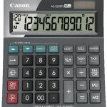 Canon As220rts 12 Digit Large Business Desktop Calculator With Tax | 77-AS220RTS