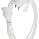 Sansai Piggy Back Extension Cord 2m | 77-SPGY-2M