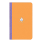 Flexbook Smartbook Notebook Medium Ruled Orange/purple | 68-2100048