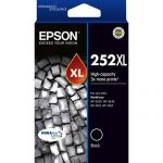 Epson 252xl Black High Yield Ink Cartridge | 77-C13T253192