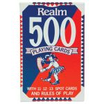 Realm Playing Cards 500 Pack (12 items) | 61-100289
