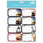 Spencil Sports Collage  Name & Subject Labels Sheet 16 | 61-113015