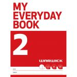 Warwick Fsc Mix 70% My Everyday Book 2 Unruled & 7mm Ruled Alternate 64 Page | 61-113228