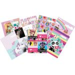 Spencil Bookcover A4 Girls Assorted | 61-113454