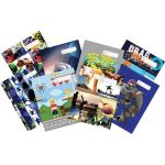 Spencil Bookcover A4 Boys Assorted | 61-113455