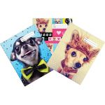 Spencil Woof Book Cover A4 Pack 3 Assorted | 61-113469