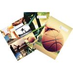 Spencil Sports Collage Book Cover 1b5 Pack 3 Assorted | 61-113536