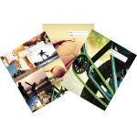 Spencil Sports Collage Book Cover A4 Pack 3 Assorted | 61-113537