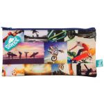 Spencil Sports Collage Rectangle Pencil Case 300 X 170mm | 61-113543