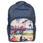 Spencil Sports Collage Backpack 450 X 370mm | 61-113554