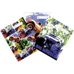 Spencil Big Wheels Ii Book Cover A4 Pack 3 Assorted | 61-113566