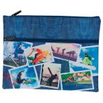 Spencil Sports Collage Pencil Case A4 2 Zip | 61-113680