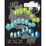 Spencil Skate Paint Book Cover 1b5 Pack 3 Assorted | 61-113704