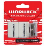Warwick Sharpener & Eraser Hangsell | 61-117378