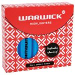 Warwick Highlighter Stubby Blue | 61-117415