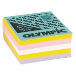 Olympic Memo Cube Half Height Refill | 61-120502