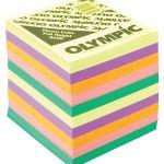 Olympic Memo Cube Fluoro Full Height Refill | 61-120552