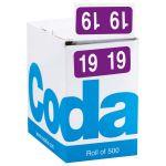 Codafile Label 19mm Year 2019 Label Roll 500 | 61-162019