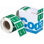 Codafile Label Numeric 1 25mm Roll 500 | 61-162521