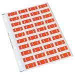 Codafile Label Alpha I 25mm Pack 5 Sheets   61-162558