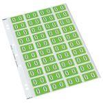 Codafile Label Alpha Q 25mm Pack 5 Sheets | 61-162567