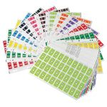Codafile Label Alpha Miniset A-z 25mm Pack 27 Sheets | 61-162577
