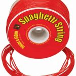 Ec String Pvc Spaghetti 60m Red | 61-227449