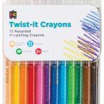 Ec Crayons Twist-it 12 Pack | 61-227499