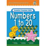 Greenhill Activity Book 3-5yr Numbers 1 To 20 | 61-227571