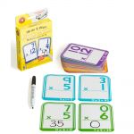 Lcbf Write & Wipe Flashcards Multiplication W/marker | 61-227867