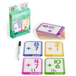 Lcbf Write & Wipe Flashcards Addition W/marker | 61-227868