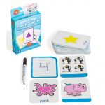 Lcbf Write & Wipe Flashcards Colour Shape Number W/marker | 61-227869