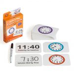 Lcbf Write & Wipe Flashcards Time W/marker | 61-227870