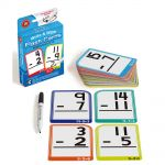 Lcbf Write & Wipe Flashcards Subtraction W/marker | 61-227872