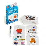 Lcbf Write & Wipe Flashcards Alphabet W/marker | 61-227905
