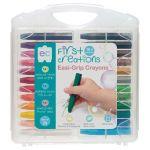 Ec First Creations Easi-grip Crayons Set 24 | 61-227935
