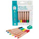 Ec First Creations Easi-grip Triple One Wooden Pencils Pack 6 | 61-227942