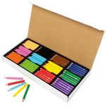 Ec Jumbo Pencils Pack 120 Washable Assorted Colours With Sharpener | 61-227989