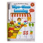 Lcbf Wipe Clean Learning Book Early Numbers Skills W/marker | 61-228000
