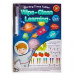 Lcbf Wipe Clean Learning Book Starting Times Tables W/marker | 61-228001