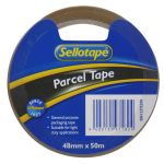 Sellotape Economy Parcel Tape 48mm X 50m Brown | 61-2375298