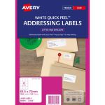 Avery Label L7164-100 Fsc Mix Credit 100 Sheets Laser | 61-238027